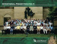 Honoring the Variety of Gifts within Our Presbyterate [pdf]