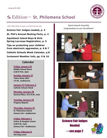 InEdition 1.23.13 - Saint Philomena School