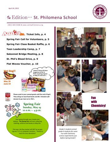 InEdition 4.24.1 - Saint Philomena School