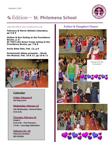 InEdition 2.6.13 - Saint Philomena School