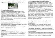 Ecole maternelle Jules Ferry - Saint-Prix