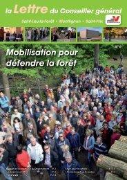 Lettre n°6 janvier 2012 - Saint-Prix