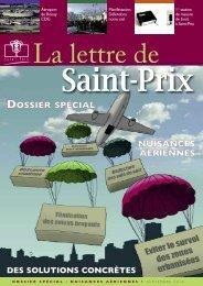 La Lettre Spéciale Nuisances Aériennes - Saint-Prix