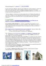 Le Guide Des Lycã E Saint Rã Mi