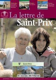 La lettre de Saint Prix
