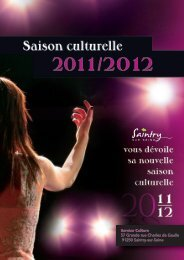 Service Culture 57 Grande rue Charles de Gaulle 91250 Saintry-sur ...