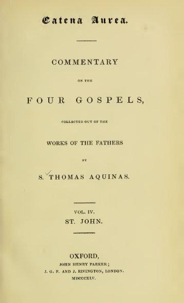 The Gospel of John - Saints' Books