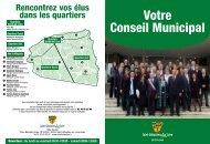 Votre Conseil Municipal - Ville de Saint-Sébastien-sur-Loire