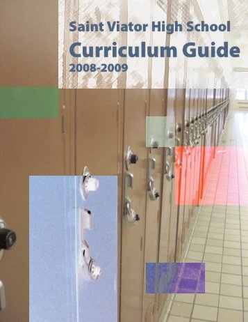 Curriculum Guide - Saint Viator High School