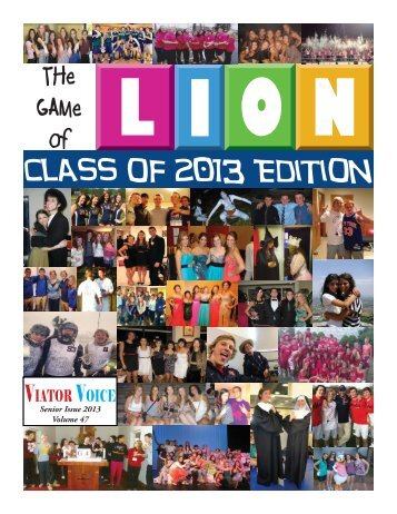 Class of 2013 Edition - Saint Viator High School