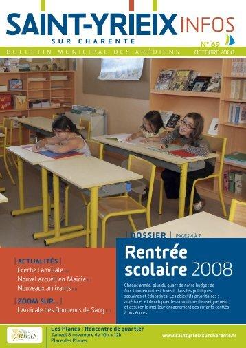Télécharger le numéro 69 - Saint-Yrieix sur Charente