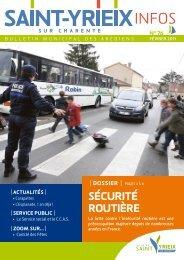 sécurité routière - Saint-Yrieix sur Charente