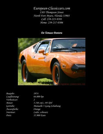 Datenblatt im .pdf-download-Format  - European-Classiccars