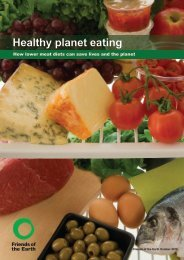 Healthy planet eating - Friends of the Earth