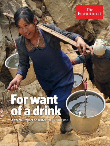The Economist - Special report on Water - SAI Platform