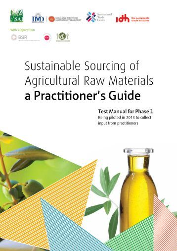 Sustainable Sourcing Guide - International Trade Centre