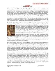 Worshipping the Lord - Sathya Sai Service Organisation Scotland