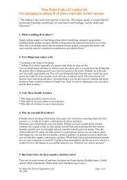 Do Not Talk ill of Others - Sathya Sai Service Organisation Scotland