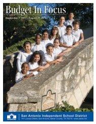 2011-2012 Budget Highlights - San Antonio Independent School ...