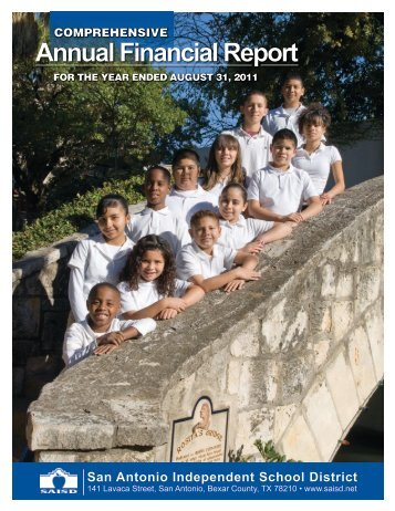 2011 CAFR - San Antonio Independent School District