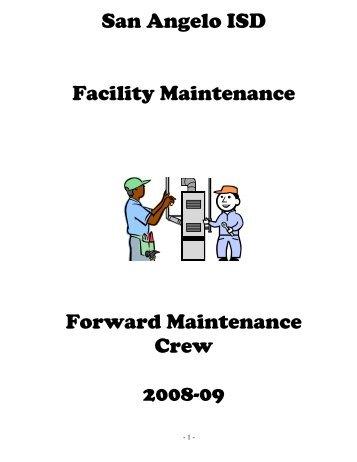 SAISD Forward Maintenance Crew - San Angelo ISD