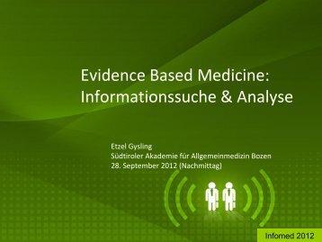 PRESENTATION NAME - Südtiroler Akademie für Allgemeinmedizin