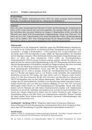 Erfordert ein erhöhter Antistreptolysin-Titer (AST)