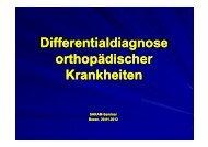 Diff ti ldi Diff ti ldi Differentialdiagnose orthopädischer ...