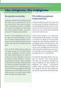 EU:s funktionshinderspolitiska strategi pdf-format (303 kB) - Handisam - Page 2