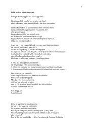 Från patient till medborgare - lättläst version i pdf-format - Handisam