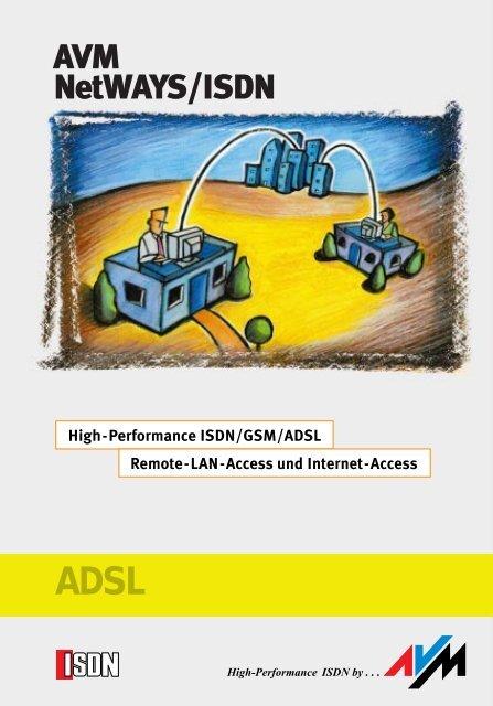 AVM NETWAYS/ISDN 64 BIT DRIVER
