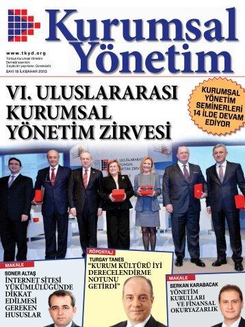 Kurumsal Yönetim Dergisi 19