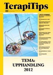 TEMA: UPPHANDLING 2012 - Landstinget Sörmland