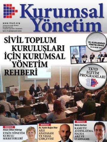 Kurumsal Yönetim Dergisi 21
