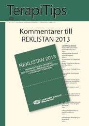 Terapitips nr 1 2013 - Landstinget Sörmland