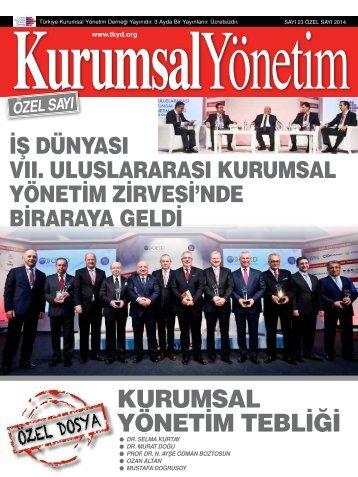 Kurumsal Yönetim Dergisi 23