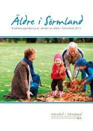 Äldre i Sörmland 2012, 3,21 MB - Landstinget Sörmland