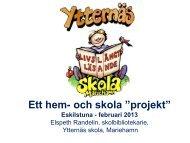 Elspeth Randelin om läsning i Ytternäs skola i Mariehamn