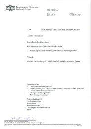 30 Ändrat reglemente för Landstinget Sörmlands revisorer