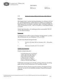 68 Direktiv för budget 2004 och flerårsplan 2005-2006 - Landstinget ...