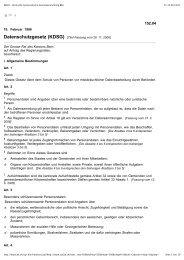 BELEX - Bernische Systematische Gesetzessammlung BSG