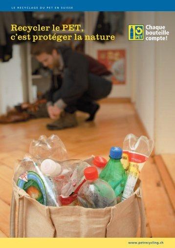 Le recyclage du PET en Suisse - PET-Recycling Schweiz