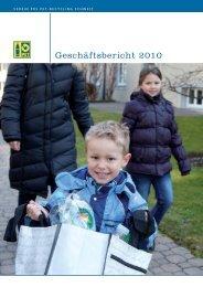 Geschäftsbericht 2010 - PET-Recycling Schweiz