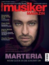 Musiker Magazin 02/2014