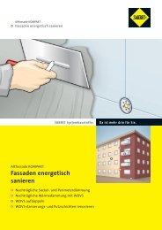 Fassaden energetisch sanieren - SAKRET Trockenbaustoffe Europa ...