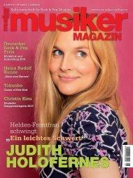 Musiker Magazin 01/2014