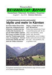 Idylle und mehr im Südwesten Kärntens