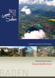 Staatlich anerkannter Erholungsort - Gemeinde Salem