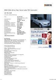 Druckansicht: BMW 530d xDri... - Sales Auto Klub