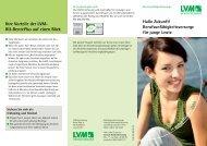 Ihre Vorteile der LVM- BU-RentePlus auf einen ... - SalesCatalog.de